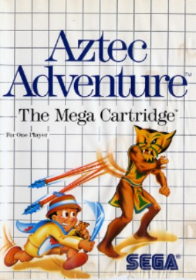 Aztec Adventure Cover Art