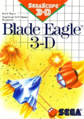 Blade Eagle 3-D Cover Art