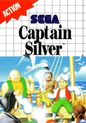 Captain Silver Cover Art