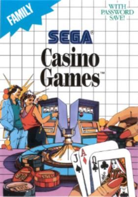 Casino Games Cover Art