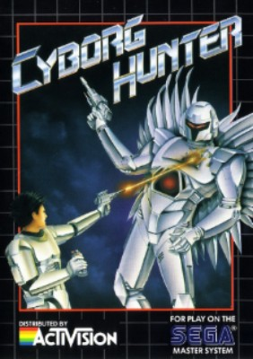 Cyborg Hunter Cover Art