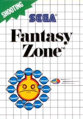 Fantasy Zone [Blue Label] Cover Art