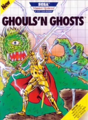 Ghouls N Ghosts Cover Art