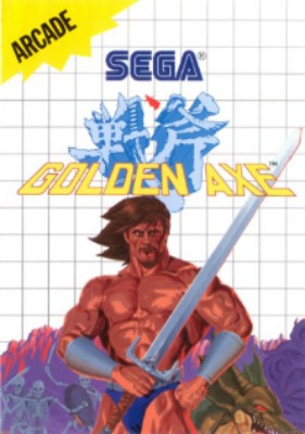 Golden Axe Cover Art