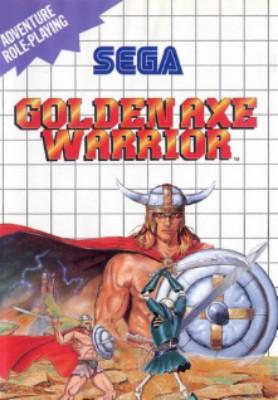 Golden Axe Warrior Cover Art