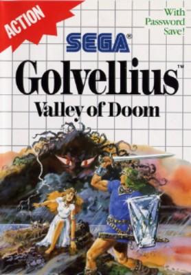 Golvellius: Valley of Doom Cover Art