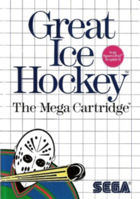 Great Ice Hockey Cover Art