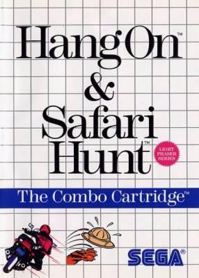 Hang On & Safari Hunt Cover Art