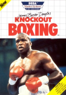 James Buster Douglas Knockout Boxing Cover Art
