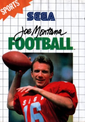Joe Montana Football Cover Art