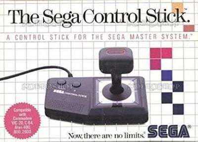 Master System Control Stick Cover Art