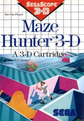 Maze Hunter 3-D Cover Art