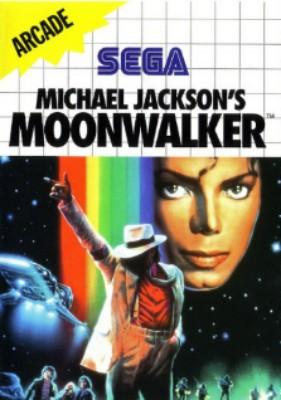 Michael Jackson's Moonwalker Cover Art