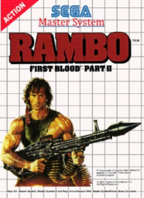 Rambo: First Blood Part II Cover Art