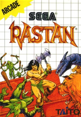 Rastan Cover Art