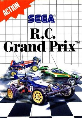 R.C. Grand Prix Cover Art
