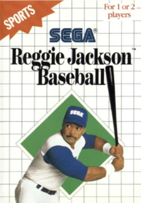 Reggie Jackson Baseball [Blue Label] Cover Art