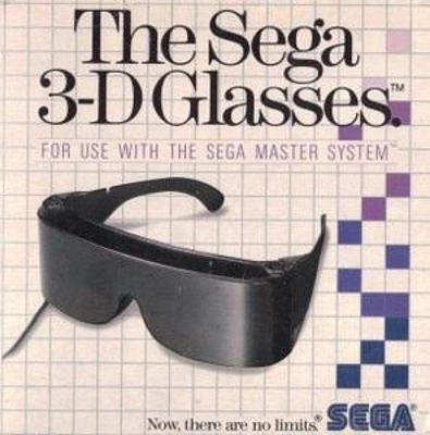 Sega 3-D Glasses Cover Art