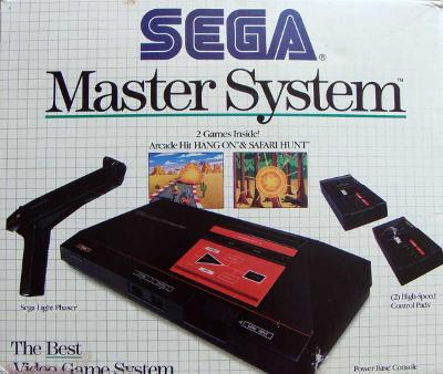 Sega Master System Console [Phaser Bundle] Cover Art