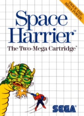 Space Harrier Cover Art