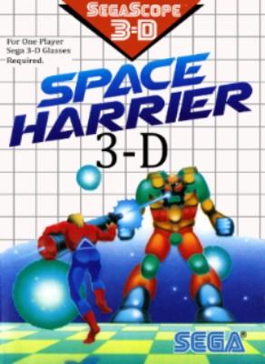 Space Harrier 3-D Cover Art