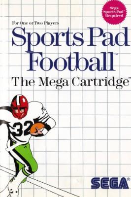 Sports Pad Football Cover Art
