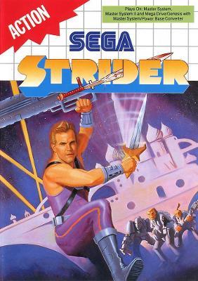 Strider [UPC Barcode] Cover Art