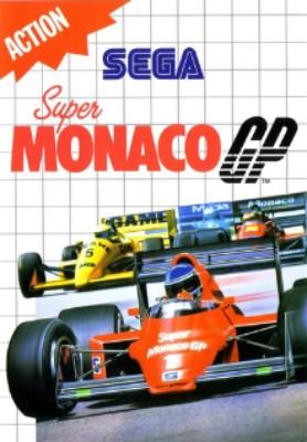 Super Monaco GP Cover Art