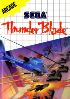 Thunder Blade Cover Art
