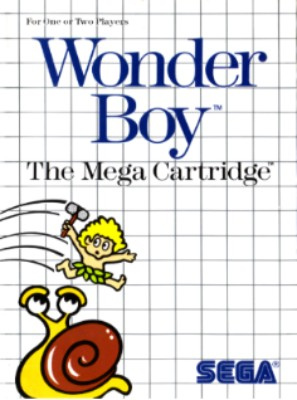 Wonder Boy Cover Art
