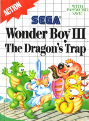 Wonder Boy III: The Dragons Trap Cover Art