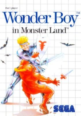 Wonder Boy in Monster Land Cover Art