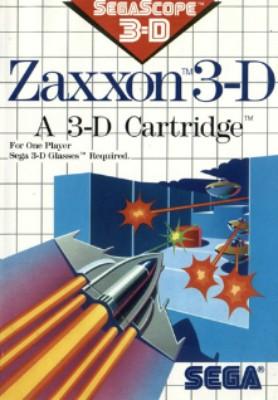Zaxxon 3-D Cover Art