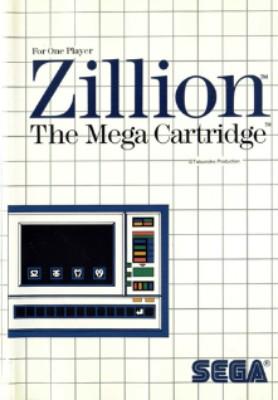 Zillion Cover Art