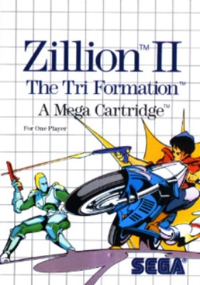 Zillion II: The Tri Formation Cover Art