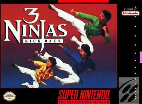 3 Ninjas Kick Back Cover Art