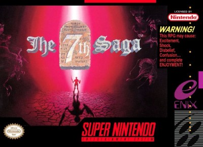 7th Saga Cover Art