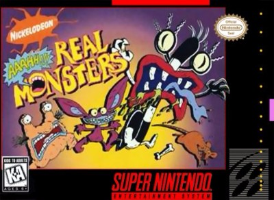 AAAHH!!! Real Monsters Cover Art