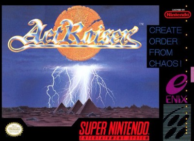 ActRaiser Cover Art