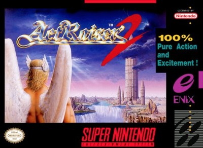 ActRaiser 2 Cover Art