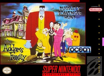 Addams Family: Pugsley's Scavenger Hunt
