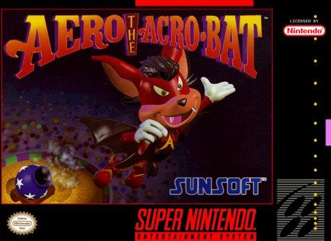 Aero the Acro-Bat Cover Art