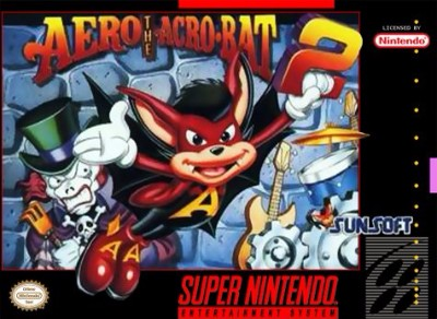 Aero the Acro-Bat 2 Cover Art