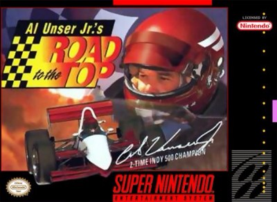Al Unser Jr.'s Road to the Top Cover Art