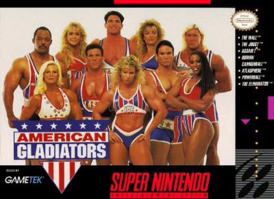 American Gladiators Cover Art