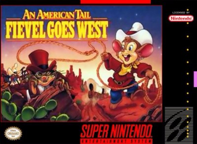 American Tail: Fievel Goes West Cover Art