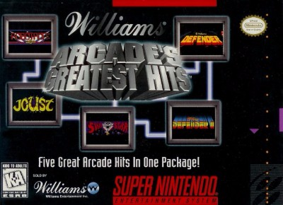 Williams Arcade's Greatest Hits Cover Art
