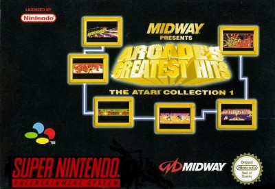 Arcade's Greatest Hits: The Atari Collection 1 Cover Art