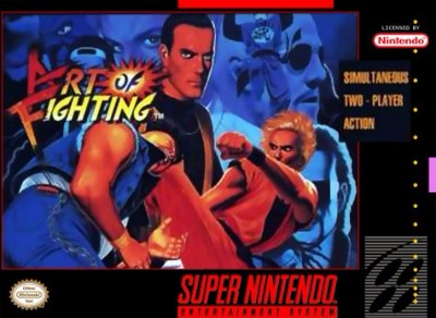 Art of Fighting Cover Art