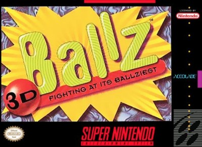 Ballz 3D Cover Art